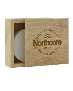 Northcore Bamboo Surf Wax Box