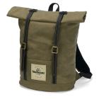Waxed Canvas Backpack - Khaki