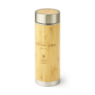 Northcore Bamboo Stainless Steel Thermos Flask 360ml